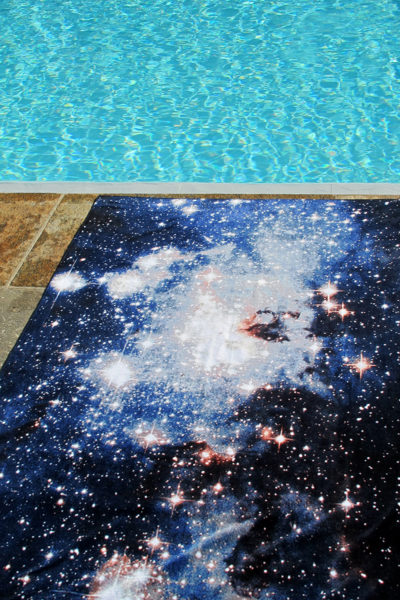 Beach Towel Nebula Heic